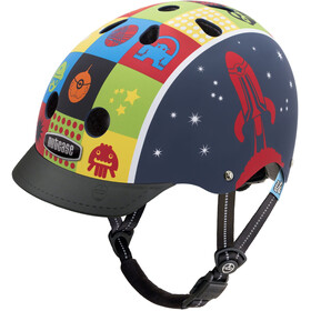 Nutcase Little Nutty Street Casco Niños, space cadet matte